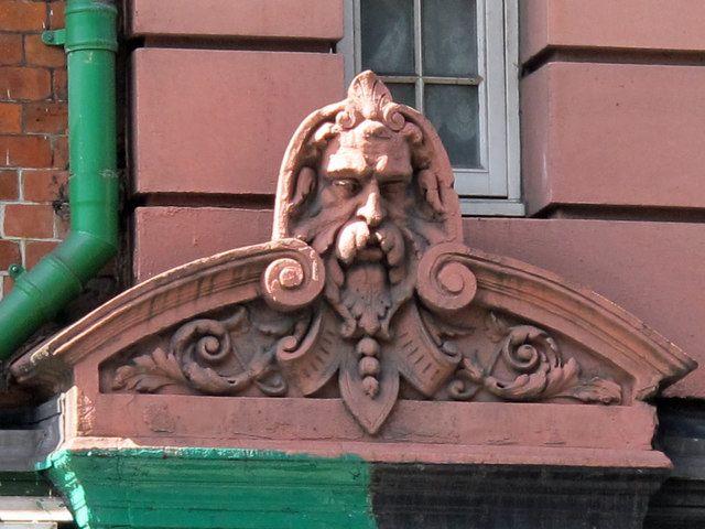 Building at Gray's Inn Road / Clerkenwell Road - detail