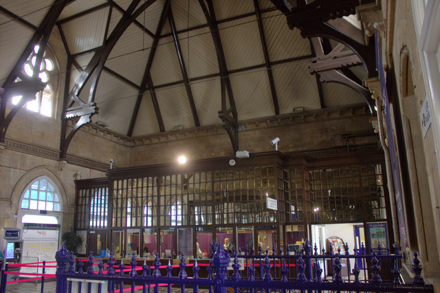 Middlesbrough station booking office