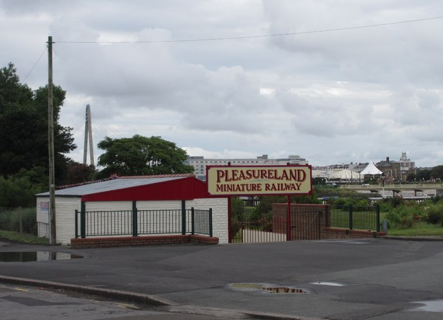Lakeside Miniature Railway, Pleasureland Terminus