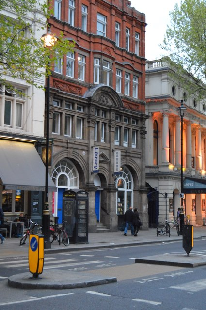 Library, Charing Cross Rd