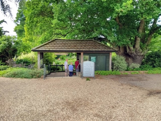 Entrance to Beth Chatto Gardens