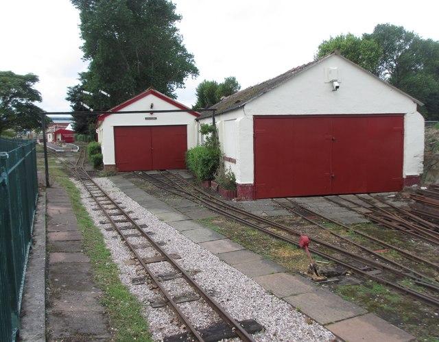 Lakeside Miniature Railway, Pleasureland Terminus