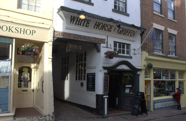 White Horse and Griffin, Church St, Whitby