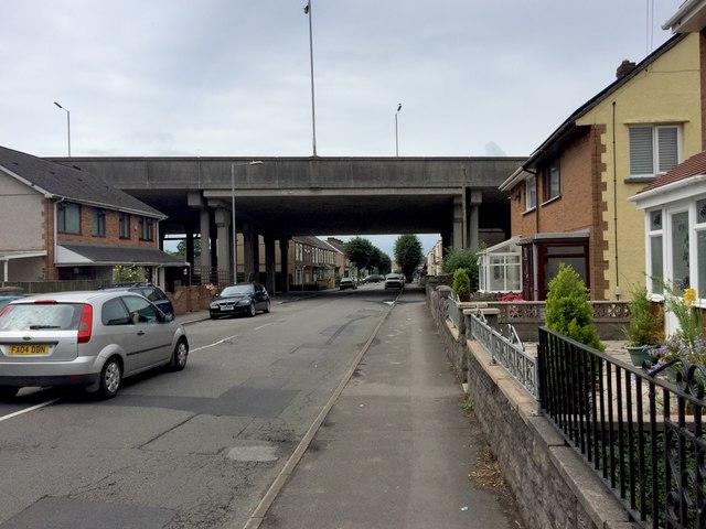 Ynys Street, Port Talbot
