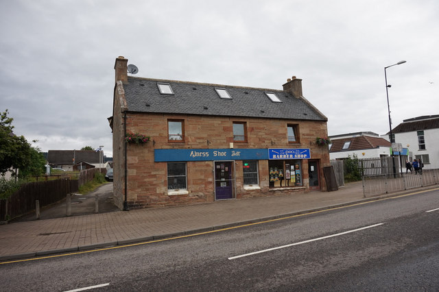 Shops on the High Street, Alness