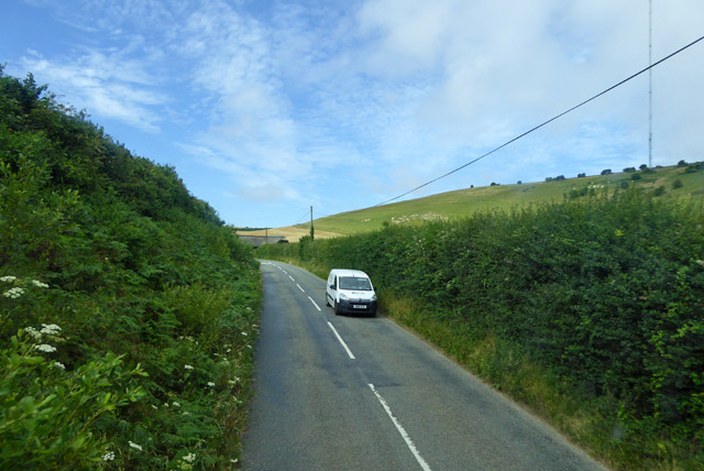 Road south from Chillerton