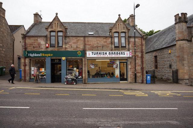 Shops on High Street, Alness