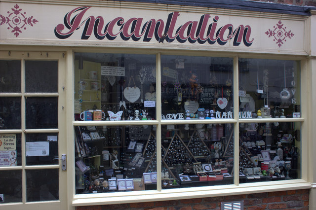 Whitby. Incantation shop