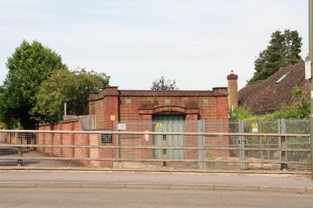 Electrcity substation (?) in Laleham Road, Shepperton