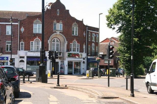 Shepperton town centre