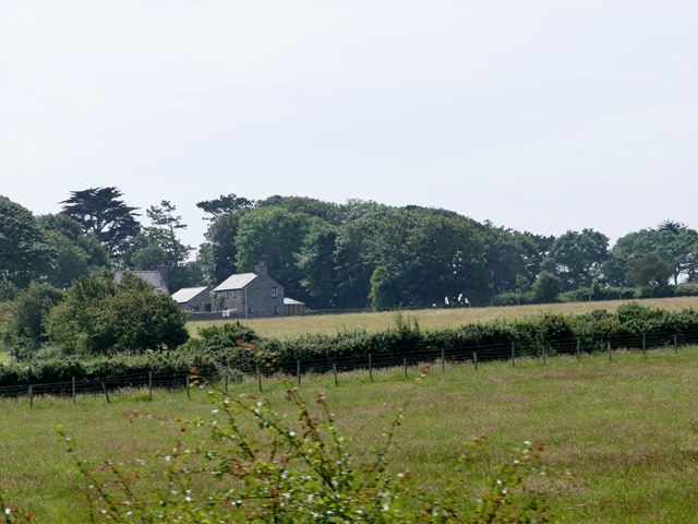 Fields at Ballakaighen Farm