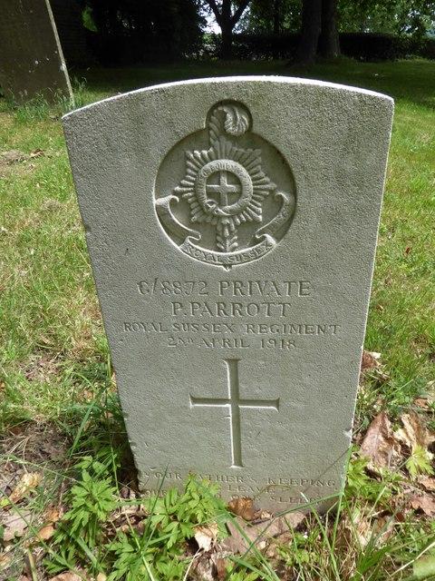 St Michael, Penhurst: churchyard (b)