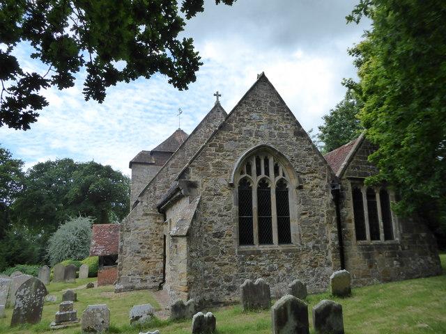 St Michael, Penhurst: churchyard (c)