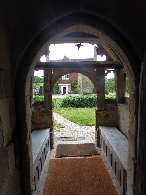 St Michael, Penhurst: south door
