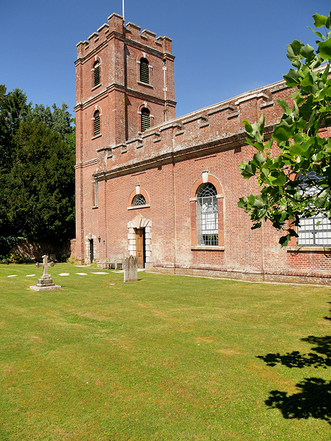 The Church of St Mary, Avington