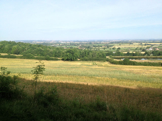 Farmland on the edge of the Vale of Belvoir