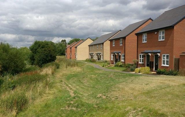 Houses on Hunter Road in Whetstone