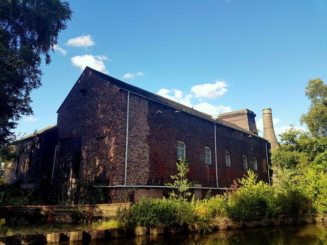 Oliver's Mill, Middleport, Burslem