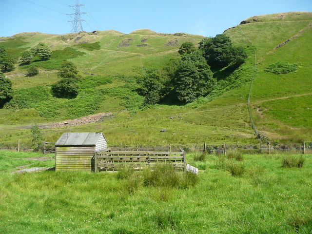 View from Todmorden Road near Summit