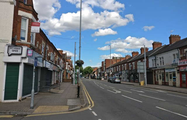 Blaby Road in South Wigston
