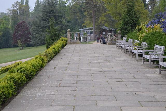 Terrace, Dunorlan Park