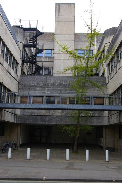 Experimental Psychology building, St Cross Road, Oxford