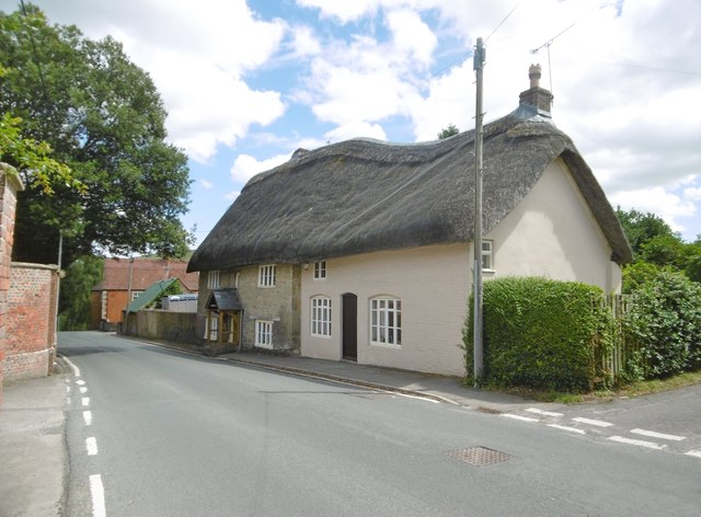Bratton, thatched cottages