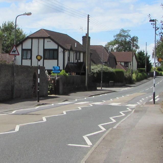 Zebra crossing, Westerleigh Road, Westerleigh