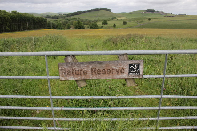 Gateway to Hartington Meadows Nature Reserve