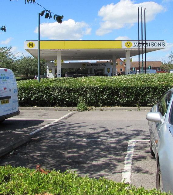 Morrisons Fuel filling station, Yate