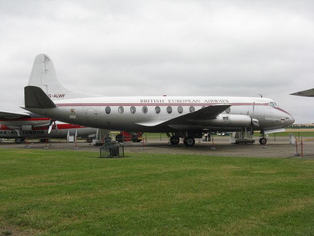 Vickers Viscount at Duxford