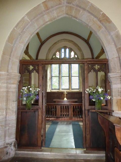Inside St Michael, Penhurst (d)