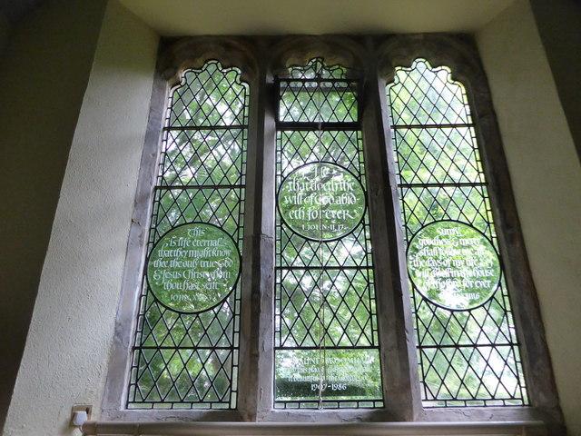Inside St Michael, Penhurst (e)