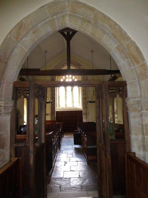 Inside St Michael, Penhurst (h)