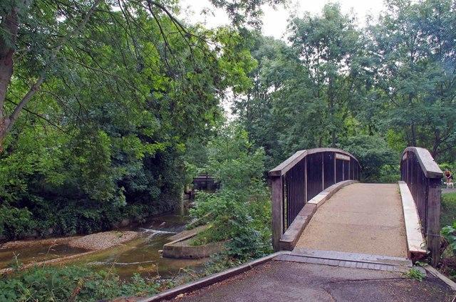 Bridge Over The Pool River