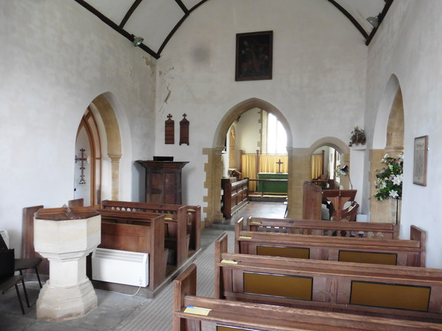 Interior, St David's Church