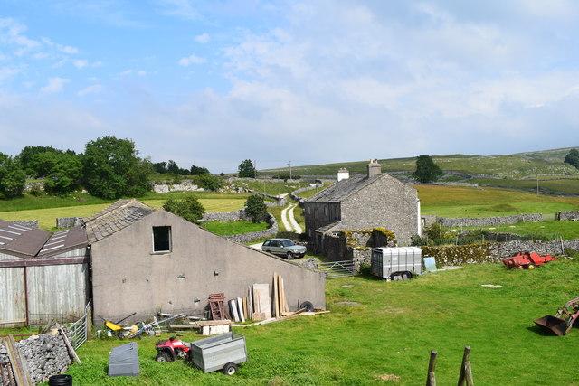 Lower Winskill farm.