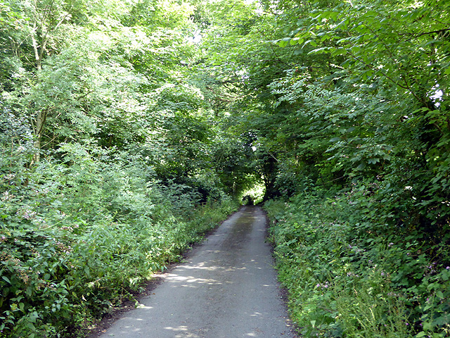 A lane leading from Penychain station to the main road