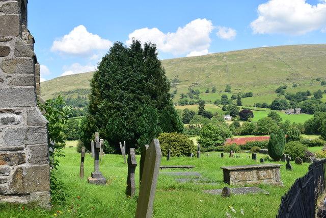 Churchyard in Dent.