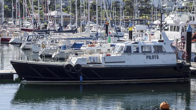 Pilot boat 'Gallant' at Bangor