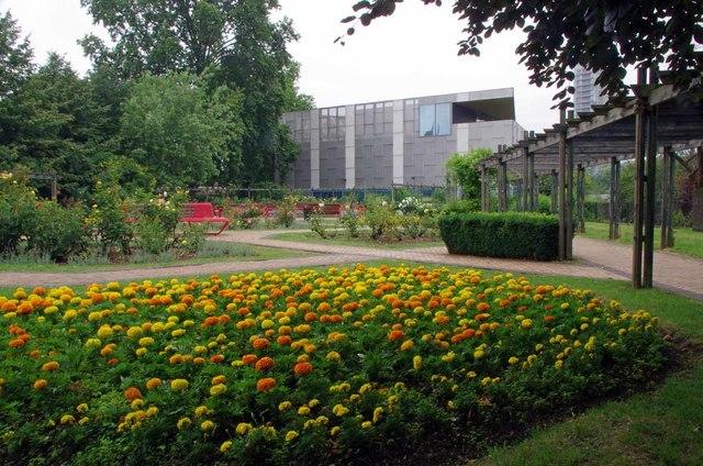 Flowerbed in Brookmill Park