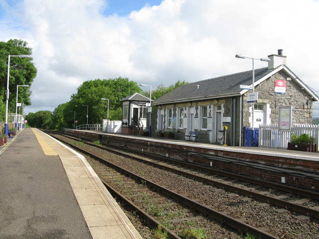Barrhill Railway Station