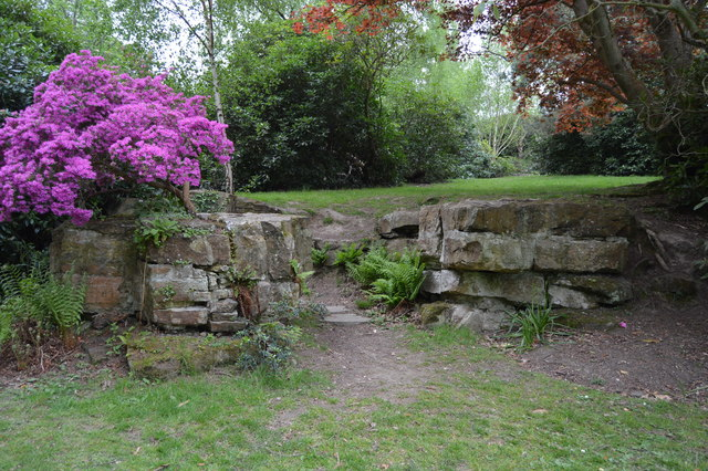 Rockery, Dunorlan Park
