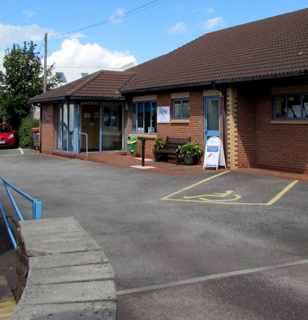 Rowe Veterinary Surgery entrance, Yate