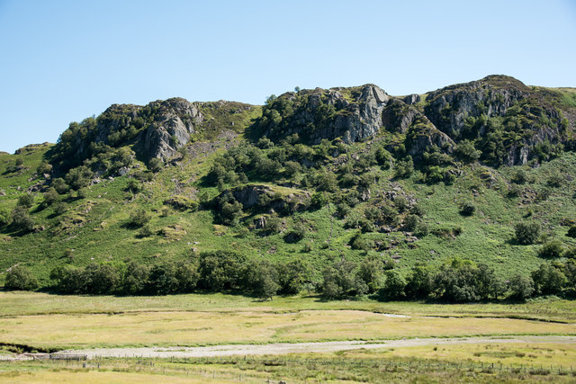 Gouther and Outlaw Crags