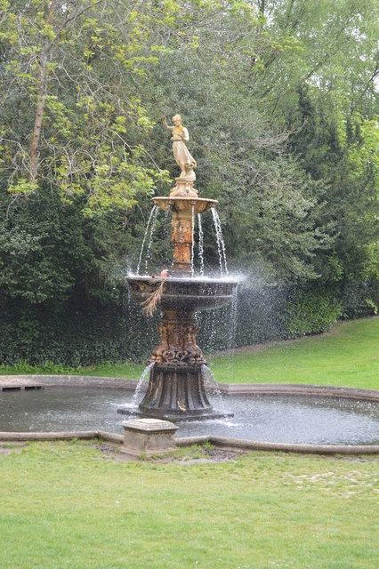 Pulhamite and terracotta Fountain