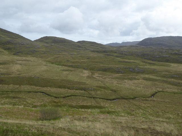 Stream, north west of Loch na Crannaig