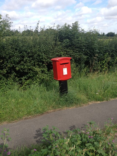 Layby post box