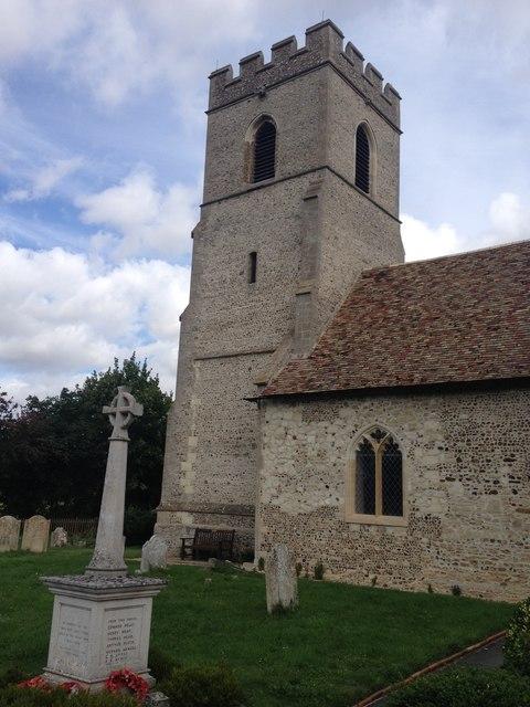 Hauxton church