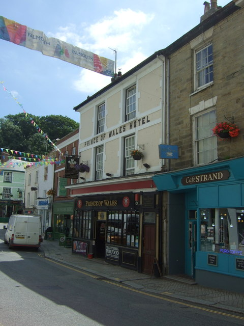 The Prince of Wales Hotel, Falmouth